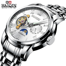 HAIQIN mechanical men's watches top brand luxury wa