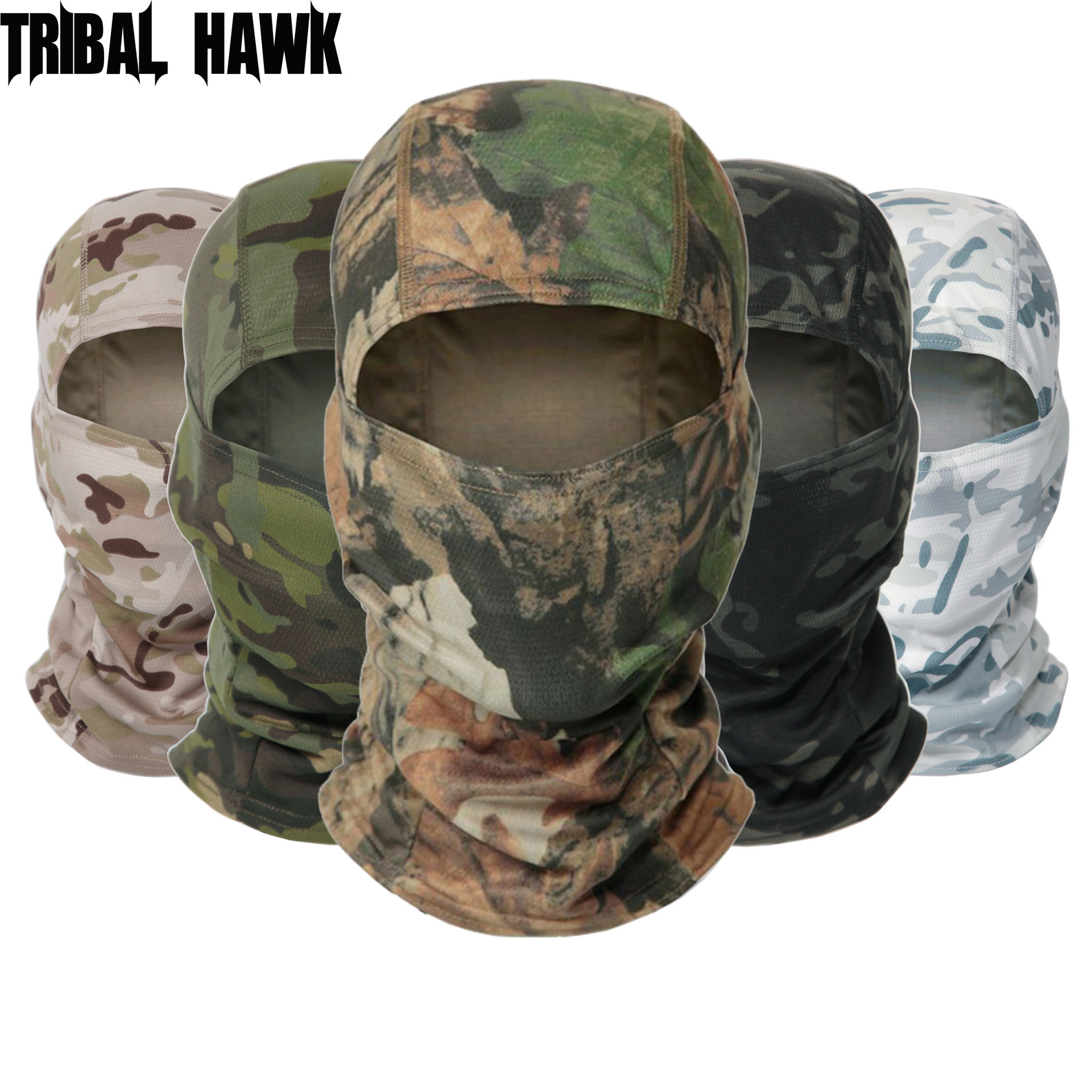 Outdoor Tactical Balaclava Full Face Mask Bicycle Cycling Ski Snowboard Cover Army Military Hat Fishing Hunting Camouflage Cap
