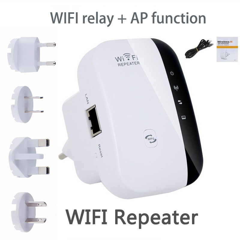 Wifi Network Repeater Wireless Signal Amplifier Wireless Routing Extender 300M Repeater Repeater