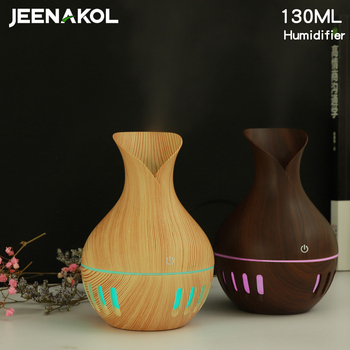 Vase Humidifier USB Home Bedroom Desktop Mute Wood Grain Aromatherapy Machine Car Explosion Humidifier Energy Saving Purifier