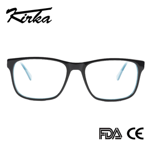 Image 3 - Kirka Men Glasses Frame Optical 2020 Vintage Men Clear Lens Prescription Spectacles Acetate Eyewear Eyeglasses Frame For Men