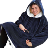 New Women Winter Hoodies Fleece Giant TV Blanket With Sleeves Oversize Women Hoody Sweatshirts Oversized Hoodies Sweatshirt 4