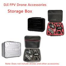 DJI FPV Drone Koffer Lagerung Box Racing Erfahrung Fliegen Gläser Lagerung Tasche Messenger Tragbare Schutz Rucksack Zubehör