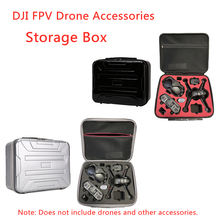 DJI FPV Drone Suitcase Storage Box Racing Experience Flying Glasses Storage Bag Messenger Portable Protection Backpack Accessory
