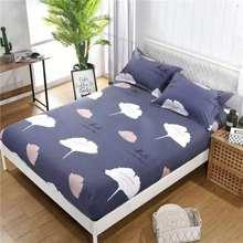 3 pçs capa de colchão com fronha dos desenhos animados crianças cabido folha com elástico rainha/rei tamanho colchão protetor folha cama conjunto