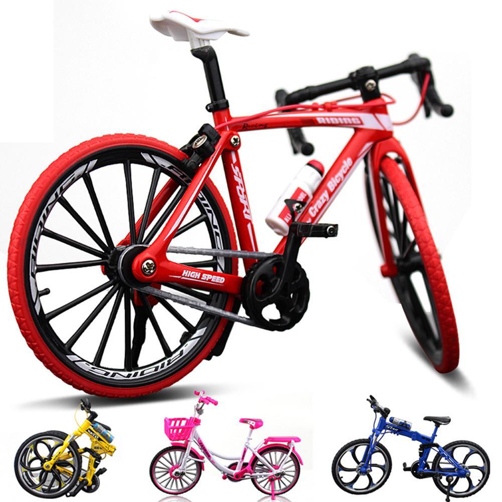 1:10 Mini Metal Racing Bike Model Bicycle Craft Kid\'s Toy Collection Desk Decor Mini Finger Bike Toy Best Sells Dropshipping Ne