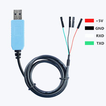 PL2303TA Download Cable USB To TTL RS232 Module Board For Arduino USB to Serial Electronic Compatible With Win XP/VISTA/7/8/8.1