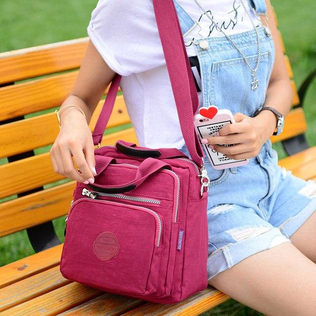 Women Messenger Bags Clutch Female Handbags Three Zipper Main Bag Woman Famous Brands Designer Shoulder Crossbody Bag Sac A Main 6