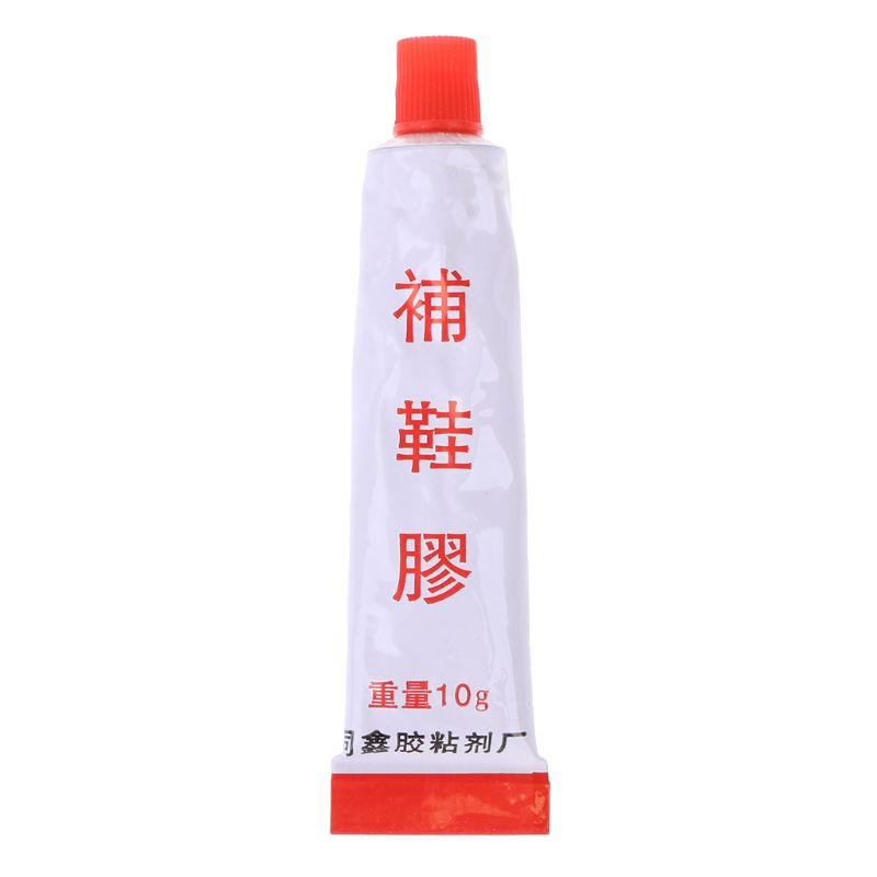 10ml Super Adhesive Repair Glue For Shoe Leather Rubber Canvas Tube Strong Bond