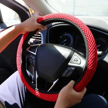 2019 New High Quality Car Steering Wheel Cover Steering Micro Fiber Leather Steering-Wheel Car Interior Accessories Car styling image