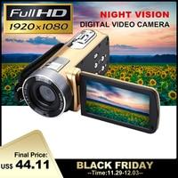 24 Million Pixels Infrared Night Vision HD Video Camcorder Handheld 1080P Digital Camera16x Digital Zoom Camcorder DV Recorder
