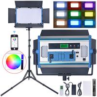 fusitu A 2200c RGB LED Light 180W Photographic lighting Lamp with LCD Screen App Remote Control Tripod For Youtube video film
