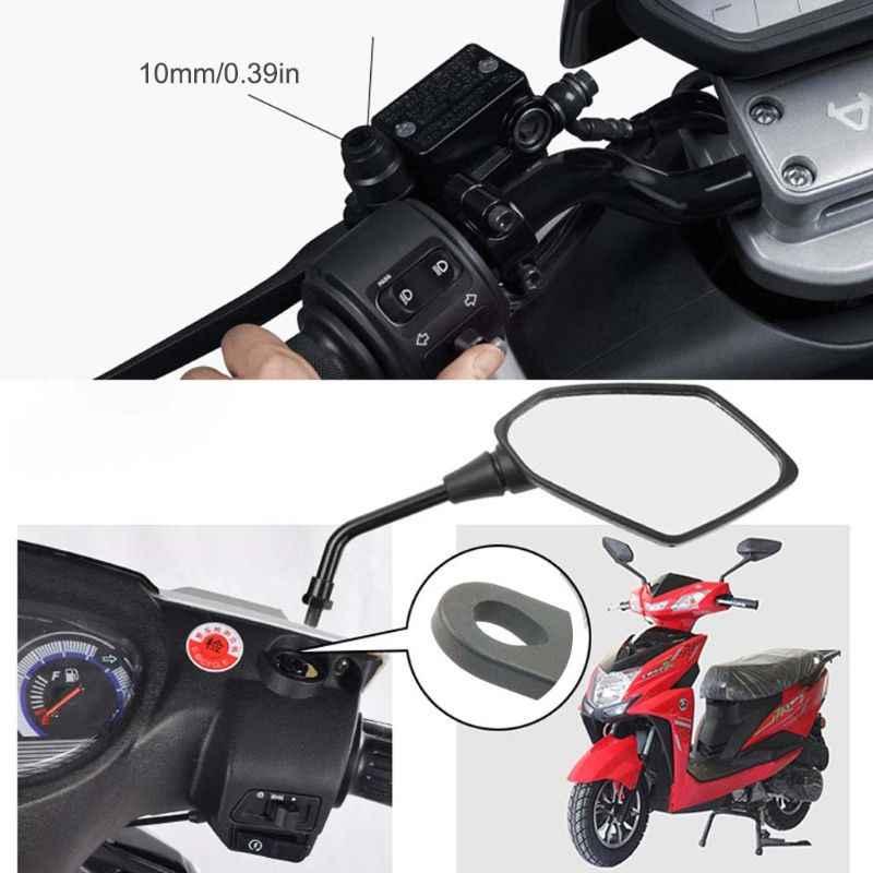 Sepeda Motor Sepeda Motor Kaca Cermin Ekstensi Mount Braket Pemegang untuk Ponsel Tablet Handlebar Mount Stand