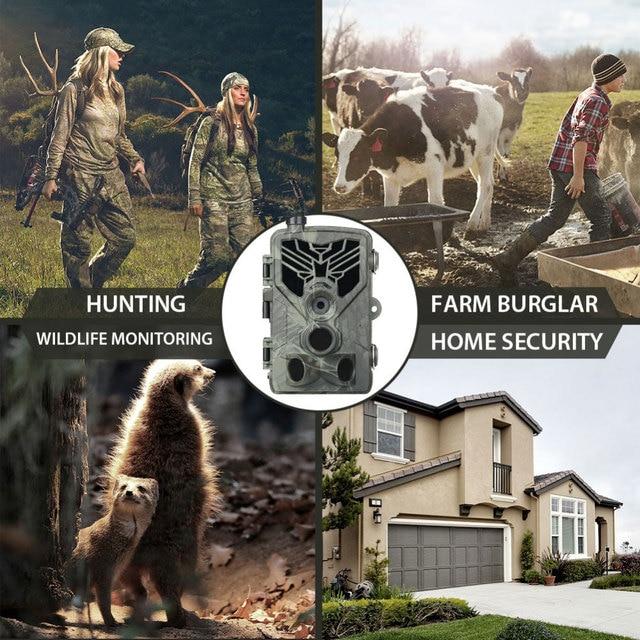 SUNTEKCAM Hunting Camera Trail Camera SMS/MMS/SMTP 2G 20MP 1080P HC810M Photo Traps 0.3s Trigger Time Trap Wildlife 5