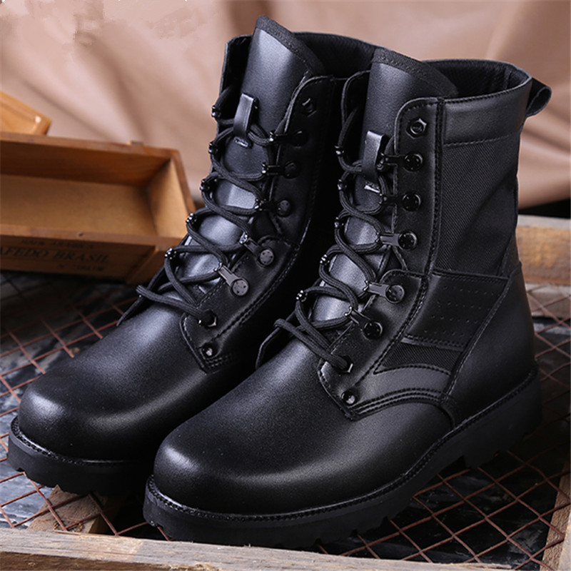 Casual Men's Boots High Help Special Forces Tactical Boots High Bang Boots Military Boots Men Martin Boots Boots