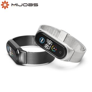 Mi Band 5 Strap New Design My Band Strap 5 Metal Mi Band 4 Global Version Wristband for Mi Band Strap Miband 3 4 5 Smart Watch