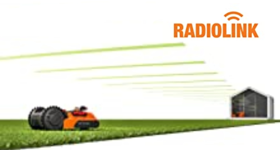 Radio link system in WORX Landroid L WR147E robot lawn mower