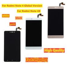 Pantalla LCD de 5,5 pulgadas para Xiaomi Redmi Note 4X / Note 4, versión táctil Global, montaje del digitalizador de pantalla con marco para Snapdragon 625