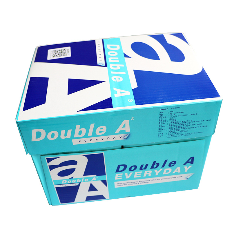 Kedaboai/Double A Import Copy Paper Double-A Print A4 Office Use 70 Grams 80g Jiangsu Zhejiang And Anhui