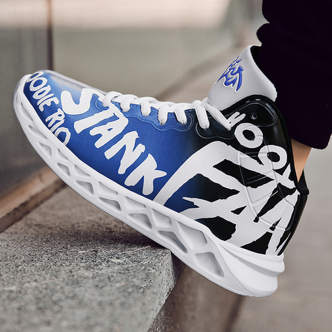 Kid Boy School Student Trainers Cyan-Blue Youth Sneakers Fashion Children Sport Shoes Super Light Soft Bottom Teenage Trainers Islamabad