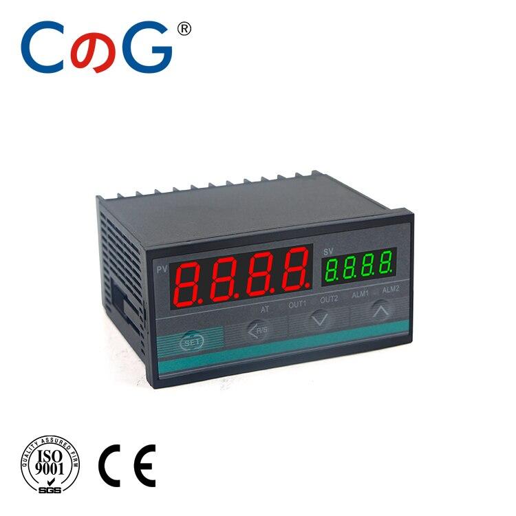 CG 96*48mm Multy Input K E J PT100 0-10V 4-20mA Voltage PID Output SSR Relay AC 220V 24VDC 380VDC Temperature Controller