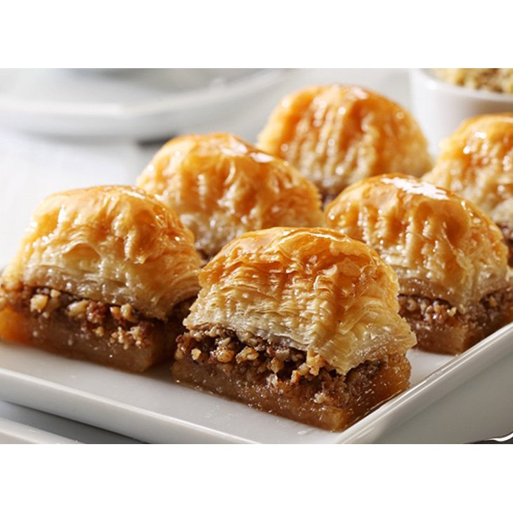 Baklava, Turkish Baklava With Walnut Daily Fresh Pastry