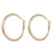 Hoop Earrings for Women Round Gold Circle Earrings Women Jewelry Punk Brincos Wedding Bride Jewelry vivilady fashion 5pairs circle round hoop earrings women gold color heart queen rose crystal hiphop brincos boho jewelry gifts