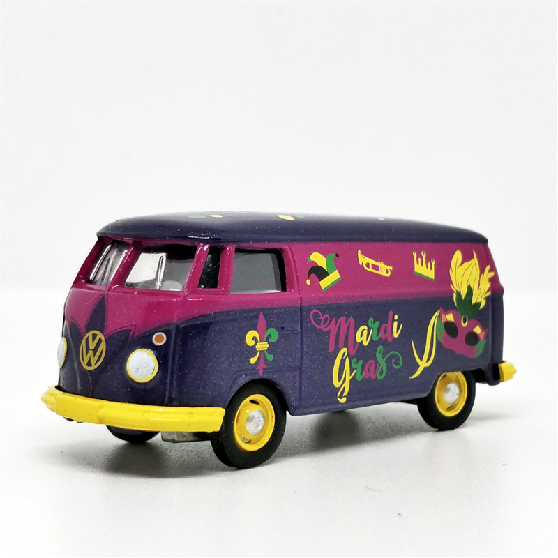 Greenlight 1:64 VW  Type 2 (T2) Mardi Gras 2020 No Box