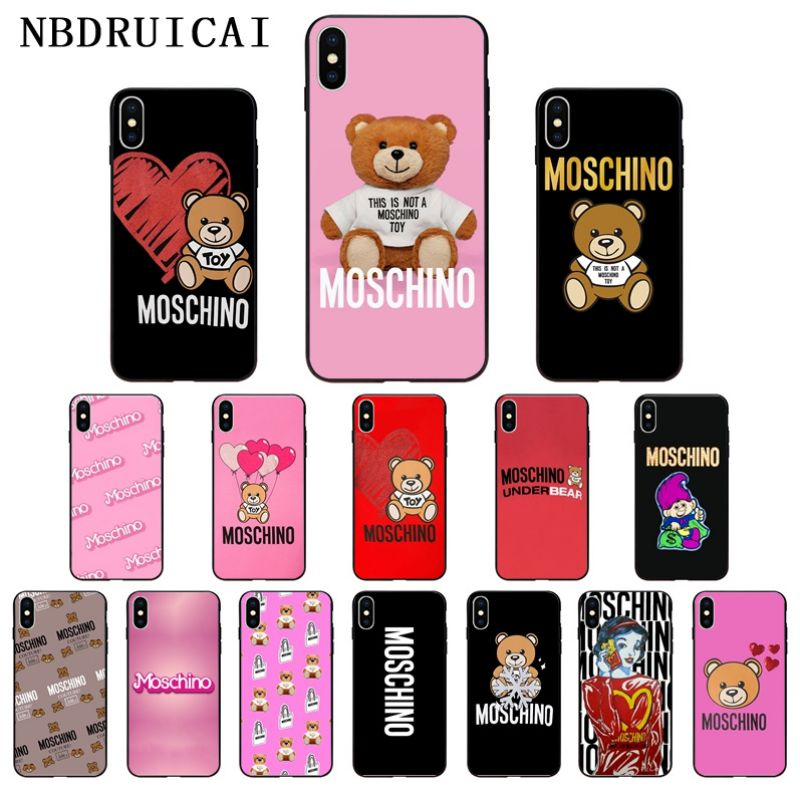 NBDRUICAI Italian luxury brands High Quality Silicone Phone Case for iPhone 11 pro XS MAX 8 7 6 6S Plus X 5 5S SE XR case