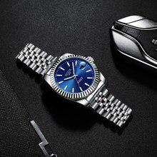 HAIQIN – montre de luxe automatique pour hommes, mécanique, réglage de la date, horloge reloj hombre, nouvelle collection 2020