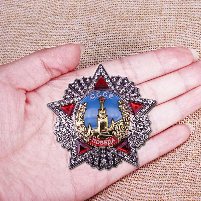 Orde Van Victory Sovjet Badge Cccp De Ussr Award Medaille Kopie