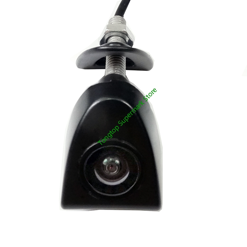 Waterproof CCD Car Front View Logo Parking Camera For Toyota Prado Highlander Land camry Firm installation in the car logo
