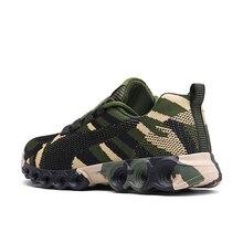 Camouflage Men Women Running Shoes Mesh