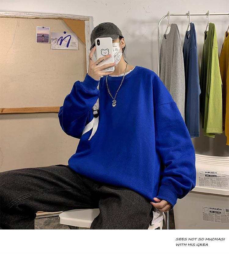 Hc0f8319b26154e13a1dc06728f9631c0V loose Korean style plus size sweatshirt winter clothes streetwear women 2020 new fashion plus velvet oversize harajuku hoodie