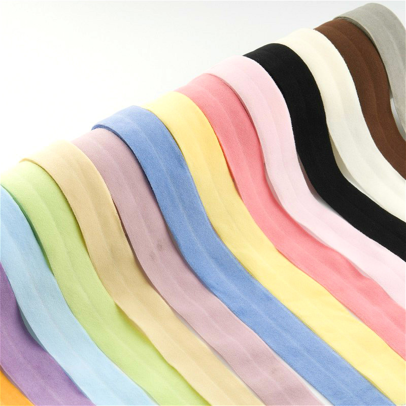 20mm Rubber Band Fold Over Elastic Band 2cm For Underwear Pants Bra Rubber Clothes Adjustable Soft Waistband Elastic 20mm 5m