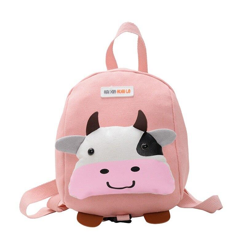 Kids Bags Boy Girl Toddler Preschool Backpack Cartoon Print Kids School Travel Lunch Bags