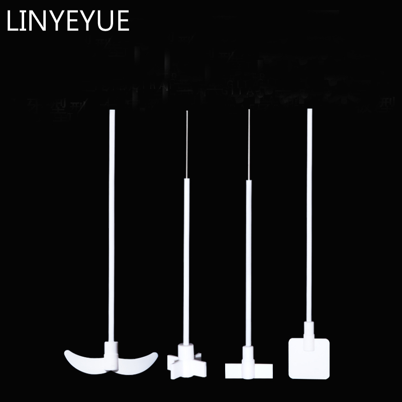 LINYEYUE Teflon Agitator Stirring Paddle PTFE Stirrer For Lab