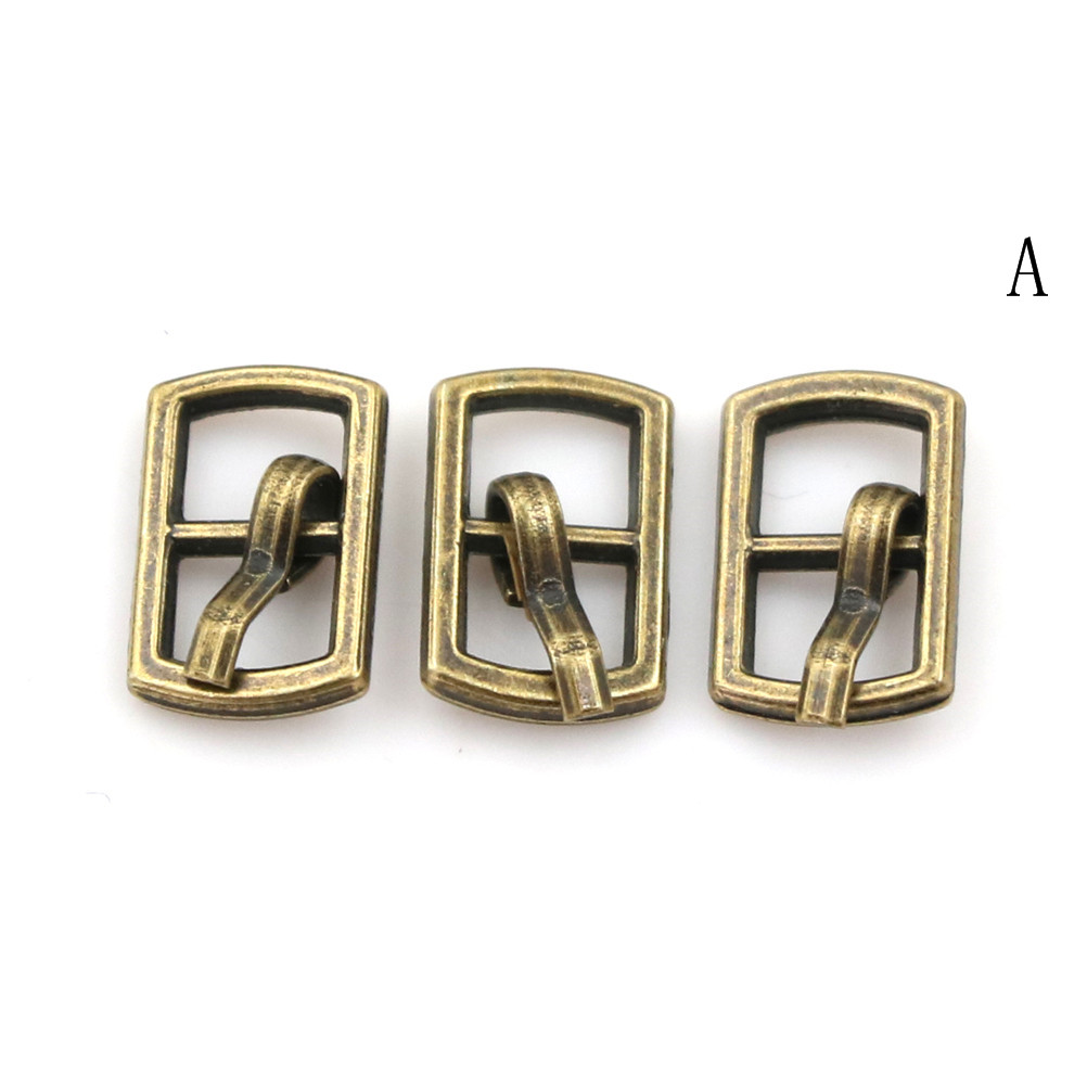 3/10PCS 4.5mm Mini Buckle DIY Patchwork Buckle For Dolls Clothing Adjustable Accessories Handmade Sewing 18