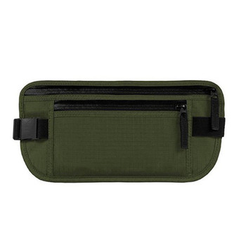 цена на Waist Bag Hot Sale Money Belt Waterproof Ripstop Nylon Security Travel   Anti-theft Passport Holder