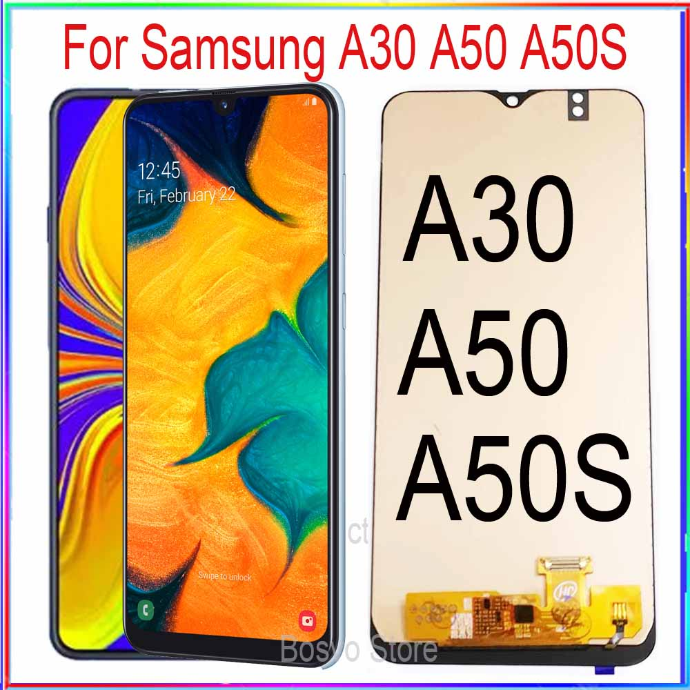 Incell For Samsung A30 A50 A50S LCD Screen Display A305 A305F A305F/DS A50 A505 A505F A507 A507F With Touch Assembly