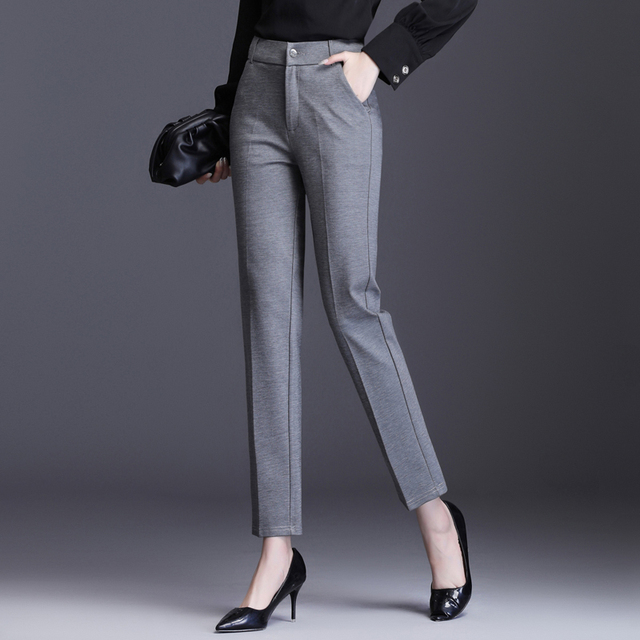Straight Long Trousers 2