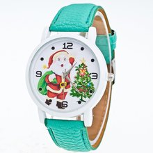 Luxury Trendcy Leather Strap Women Quartz Watch Wom