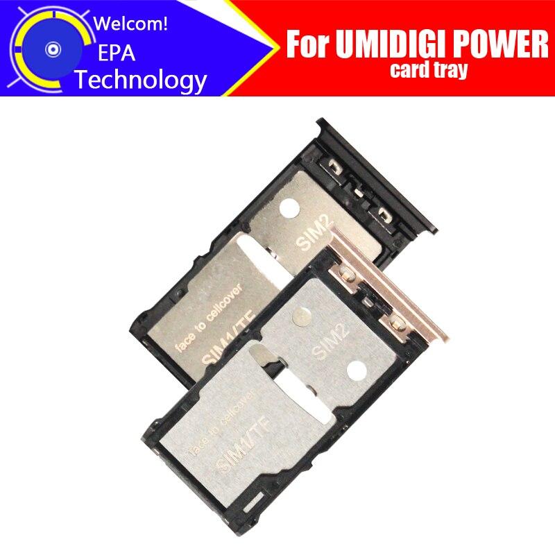 UMIDIGI POWER Card Tray 100% Original New High Quality SIM Card Tray Sim Card Slot Holder Repalcement for UMIDIGI POWER   - title=