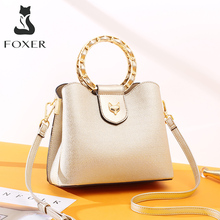 FOXER Large Capacity Chic Ladies Totes Luxury Shoulder Bag f