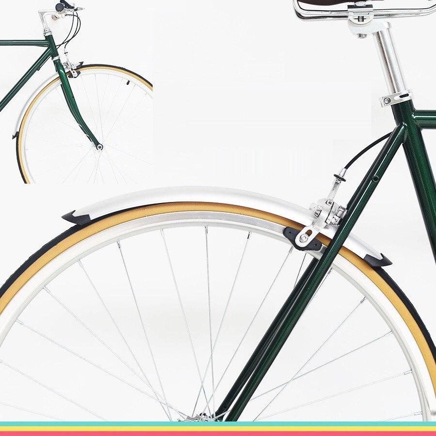 Traseiro para Bicicleta Práticas para Bicicleta de Prata Para-choque Peças 700c 1 Par