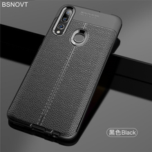 For Huawei P Smart Z Case Soft Leather Anti-knock Bumper Cover 2019 Y9 Prime BSNOVT
