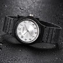 Ultra-thin Unisex Children Watch Silicone Sports Analog Quartz Wristwatch