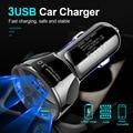 USB Quick Charge 3 0 Dual Car Charger Adapter автомобильное зарядное устройство для мобильного телефона Xiaomi Samsung iPhone X 8 7 4 5 6 быстрое зарядное устройство для тел...