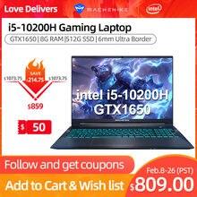 Machenike T58 portátil de juegos Core i5 10200H GTX 1650 Latptops 8G RAM 512G SSD 15,6