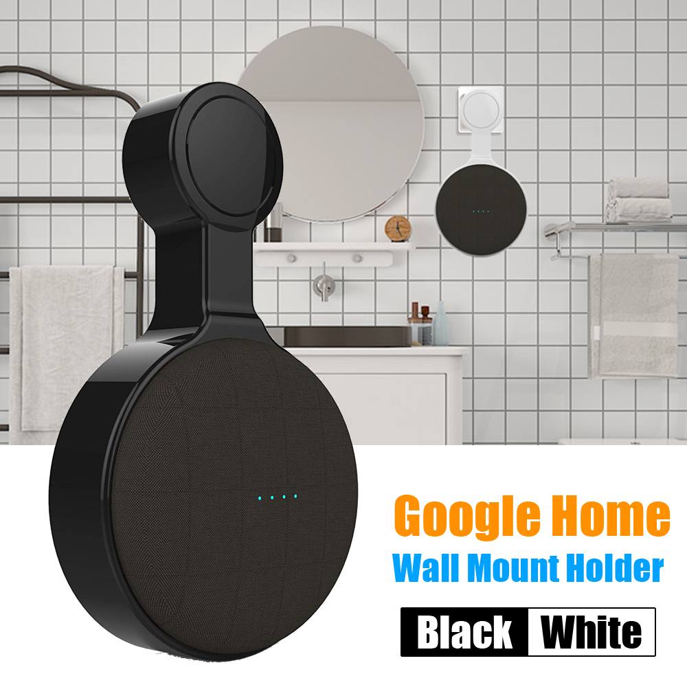 Wall Mount Holder Stand Hanger For Google Home Mini Voice Assistant Indoor Speaker Sound Box Holder Case